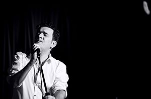 Tim Arnold (musician) - Tim Arnold live at Soho Theatre, London 2012.