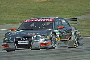 Team Rosberg - A Team Rosberg-run Audi A4 being driven by Timo Scheider during the 2006 DTM season.