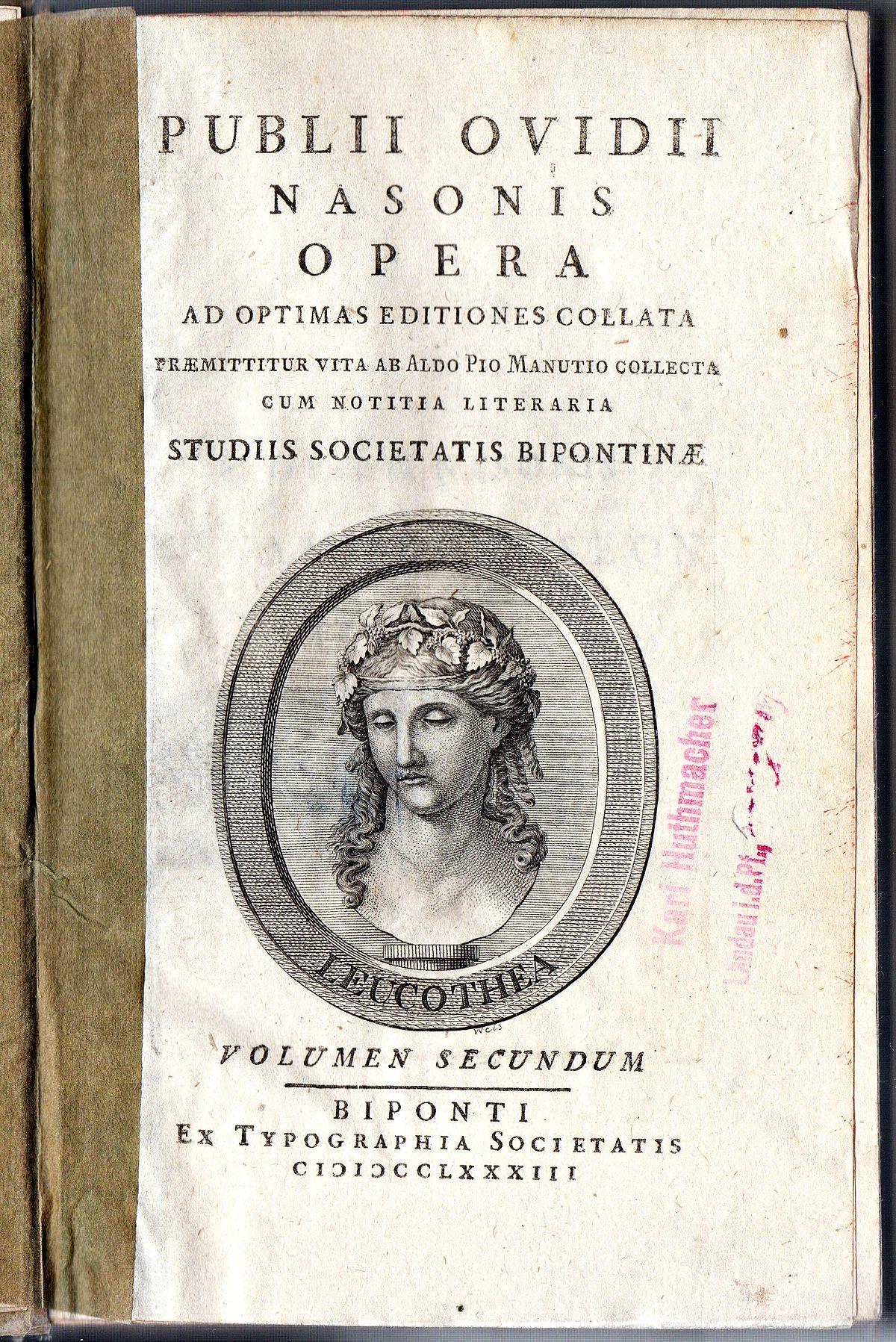ovid wikipedia - Ovid Lebenslauf