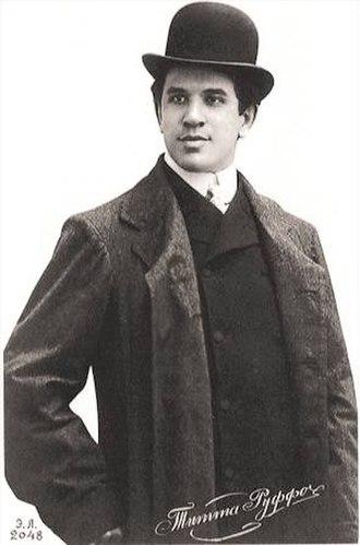 Titta Ruffo - Titta Ruffo early in his career