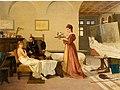 Tiziano's Studio by Amos Cassioli (1873).jpg