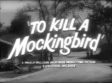 Archivo:To Kill a Mockingbird (1962) - Trailer.webm