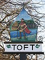 Toft village sign - geograph.org.uk - 662086.jpg