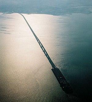 Tokyo Bay Aqua-Line - Tokyo Bay Aqua-Line (bridge section)