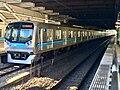 Tokyo Metro Series 05 05-130F in Nishi-Funabashi Station.jpg