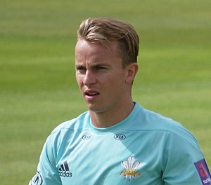 Tom Curran (cricketer) - Image: Tom Curran cricketer