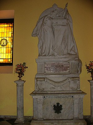 Juan Ponce de León - Tomb of Ponce de León in Cathedral of San Juan Bautista in San Juan, Puerto Rico