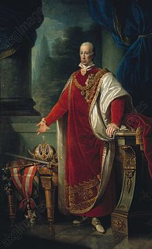Franz I., gemalt von Giuseppe Tominz, (1821) (Quelle: Wikimedia)