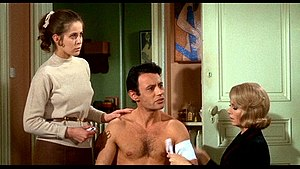 Topaz (1969 film) - Claude Jade, Michel Subor, and Dany Robin in Topaz