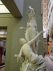 Torchère à la couronne by Albert-Ernest Carrier-Belleuse (musée d'Orsay, DO 1979-87)