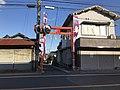 Torii of Nishikimachi Inari Shrine in Miyako, Miyako, Fukuoka.jpg