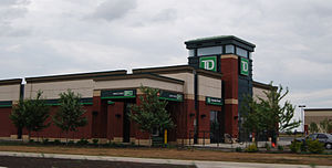 The Dominion Bank - Image: Toronto Dominion Bank TD Edmonton 3751