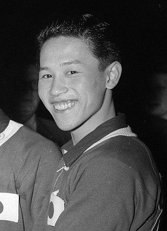Toshiaki Tanaka - Toshiaki Tanaka at the 1955 World Championships