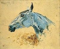 Toulouse-Lautrec - CHEVAL BLANC GAZELLE, 1881, MTL.55.jpg