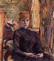 Toulouse-Lautrec - Madame Juliette Pascal, 1887.jpg