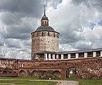 Tower fence Belozerskaya. Башня ограды Белозерская. Большая Мережная2.jpg