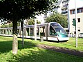 TramStrasbourg lineD Rotonde TerminusRebrousst versBriand2.JPG