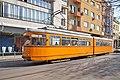Tram in Sofia near Central mineral bath 2012 PD 009.jpg