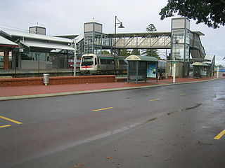 Bassendean railway station Railway station in Perth, Western Australia