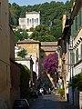 Trastevere - via s F di Sales - casa della memoria e della storia, sotto villa Lante P1020130.JPG
