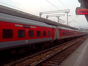 Thiruvananthapuram Rajdhani Express - Image: Trivandrm Rajadhani