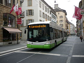 Image illustrative de l'article Trolleybus de Neuchâtel