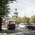 Trolleybus in Stockholm in 1956.jpg