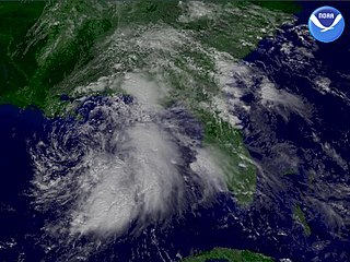 Tropical Storm Hanna (2002) Atlantic tropical storm in 2002