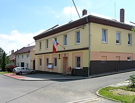 Troubky-Zdislavice, Troubky, municipal office.jpg