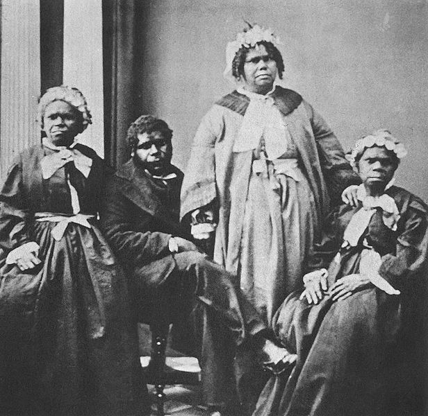 File:Truganini and last 4 tasmanian aborigines edit.jpg