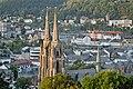 Tuerme der Elisabethkirche in Marburg, von Suedwesten.jpg