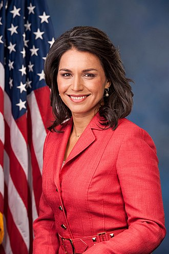 Formation of Donald Trump's Cabinet - Image: Tulsi Gabbard, official portrait, 113th Congress