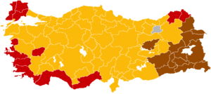 Turkish general election, 2002 - Image: Turkish general election 2002