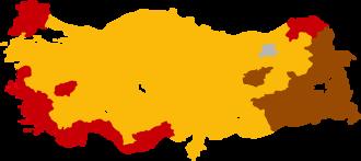 Turkish general election, 2002 - Image: Turkish general election 2002