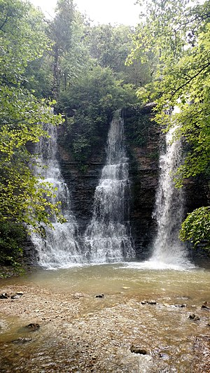 Newton County, Arkansas - Waterfall in Newton County