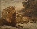 Two Tigers at Play (Antoine-Louis Barye) - Nationalmuseum - 18801.tif
