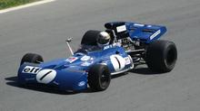 Jackie Stewarts Tyrrell 003 fra 1972