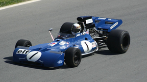 Tyrrell 003 - The Tyrrell 003 at Canada in 2004