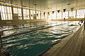U.S. Marines and Sailors swim in the Morale, Welfare and Recreation indoor swimming pool at Al Asad Air Base, Iraq, Feb. 13, 2009 090213-M-XX896-004.jpg