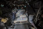 U.S. Marines transport supplies to build Ebola Treatment UnitsSpecial-Purpose Marine Air-Ground Task Force - Crisis Response - Africa Operation United Assistance Supply Drop Off 141121-M-PA636-149.jpg