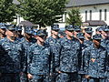 U.S. Sailors stand in formation during a 9-11 commemoration ceremony at Misawa Air Base, Japan, Sept 140911-N-EC644-026.jpg