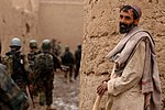 U.S. and Coalition Forces Mentor Afghan National Army in Dismount PatrolEnduring Freedom DVIDS252316.jpg