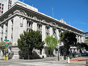 United States Customhouse (San Francisco) - U.S. Customhouse, April 2008