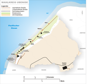 Ubenide Constituency - Map of Ubenide