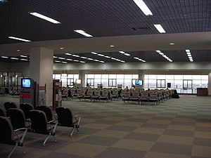 Waiting room - Waiting room for passengers at Udon Thani International Airport, Thailand