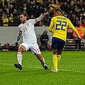 UEFA EURO qualifiers Sweden vs Spain 20191015 Fabian Ruiz and Robin Quaison 3.jpg