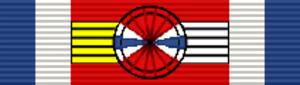 Medal of Military Merit (Uruguay) - Image: URY Medalla al Mérito Militar Oficial Superior
