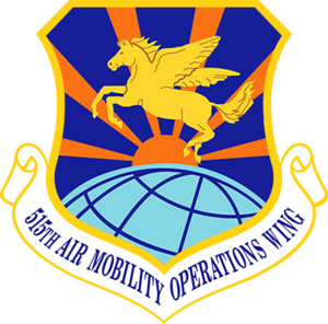 515th Air Mobility Operations Wing - Image: USAF 515th Air Mobility Operations Wing