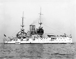 USS Alabama (BB-8) - Alabama in 1904.