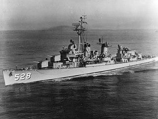 USS <i>Mullany</i> (DD-528)